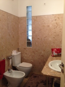 The Bathroom (yes, that is a bidet!) Photo Taken By Chad R. Mitchell
