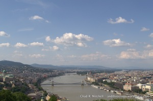 View of Budapest from the Citadel