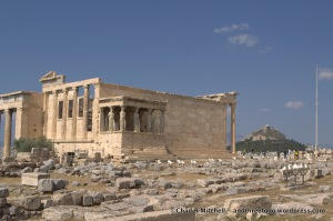 Old Temple of Athena-Built Originally in the 8th Century!