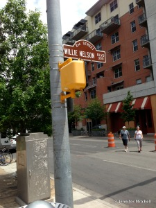 Willie Nelson Street In Austin, Texas, April 2013