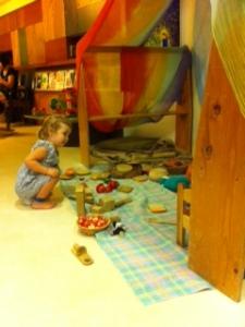 Playing at Playspace Photo By Jennifer Mitchell