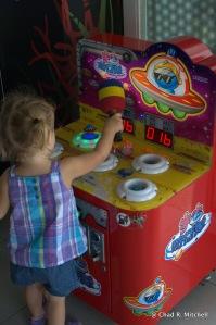Playing Whack-A-Mole Photo By Jennifer Mitchell