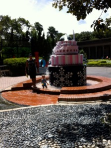 The Birthday Cake Fountain