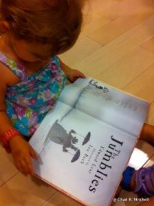 Reading By Herself Photo Taken By Jennifer Mitchell