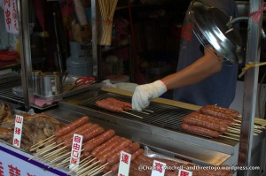 Taiwanese BBQ sausage, yes please!