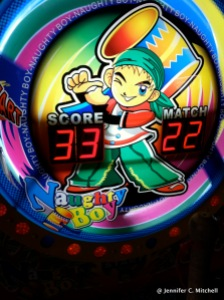 """Arcade game called """"Naughty Boy""""... I have no words"""