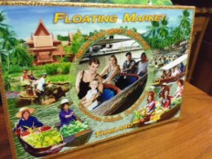 Our cheesy awesome souvenir from Damnoen Saduak Floating Market