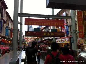 We arrived at Chinatown station