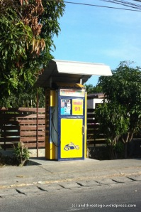 This is a gas pump, you could just pull up and fill up without the hassle of the gas station