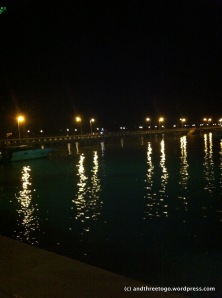 The lights on Chalong Pier, Phuket