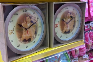 These clocks have His Majesty the King of Thailand on them. I think they are pretty cool looking.