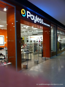 I could hardly contain myself when I found out that there is a Payless Shoe Source here in Phuket. For those of you that don't know, they sell shoes in the States at pretty low prices. I pretty much ran into the store to see if they have my humungous size shoe.